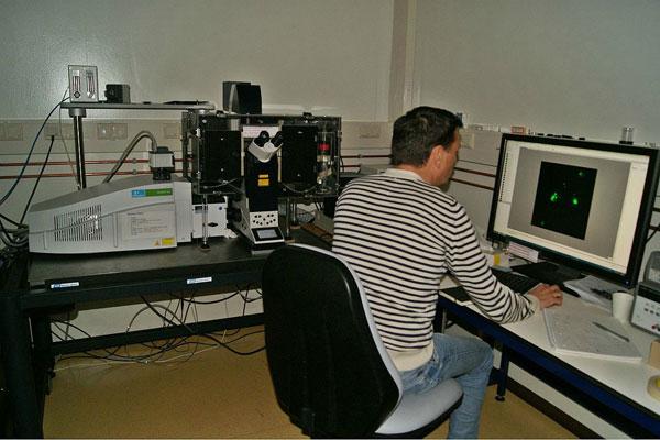 2012.12.12 Testing PerkinElmer SD-FRAP 01